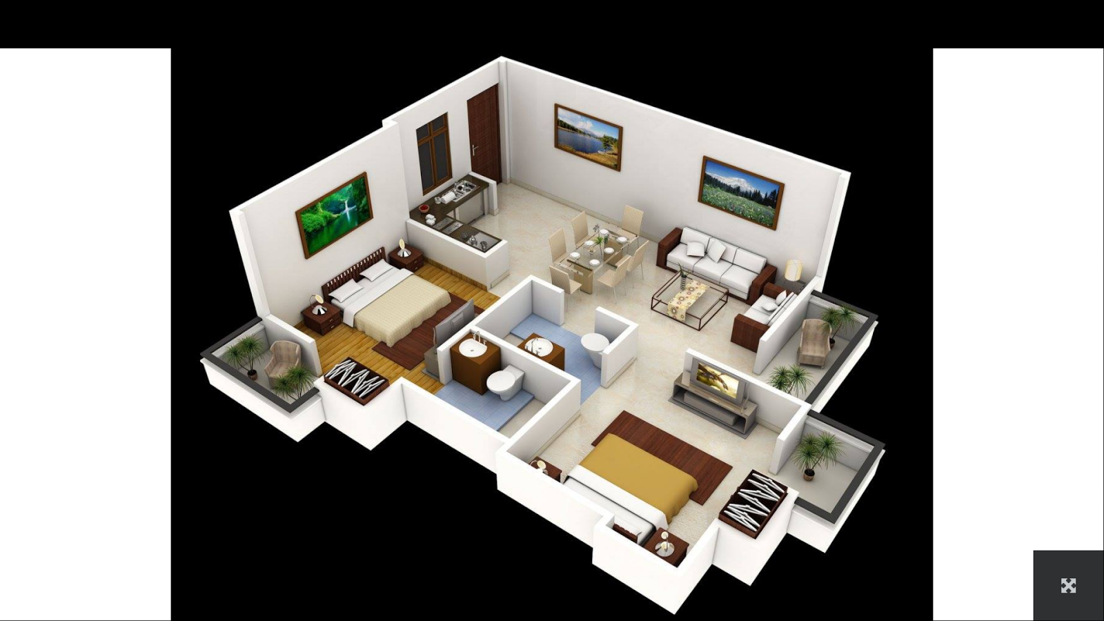 Home Design Ideas 3d: 3D House Plans 1.2 APK Download