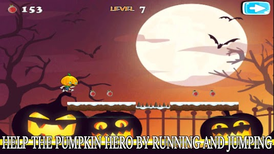 Super Pumpkin Hero Adventures 2.0.0 screenshot 14