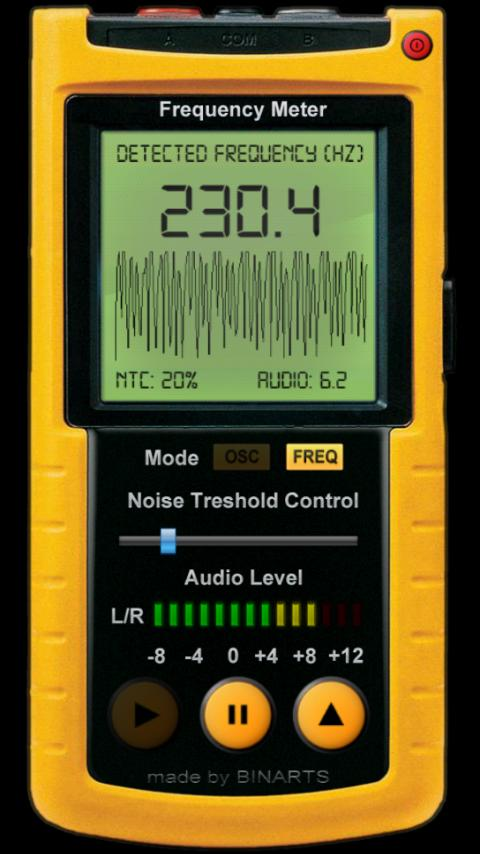 Frequency Meter PRO 1 0 9 APK Download - Android Tools Apps