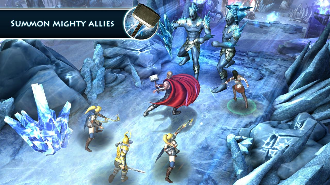Thor: TDW - The Official Game 1 2 3 APK Download - Android