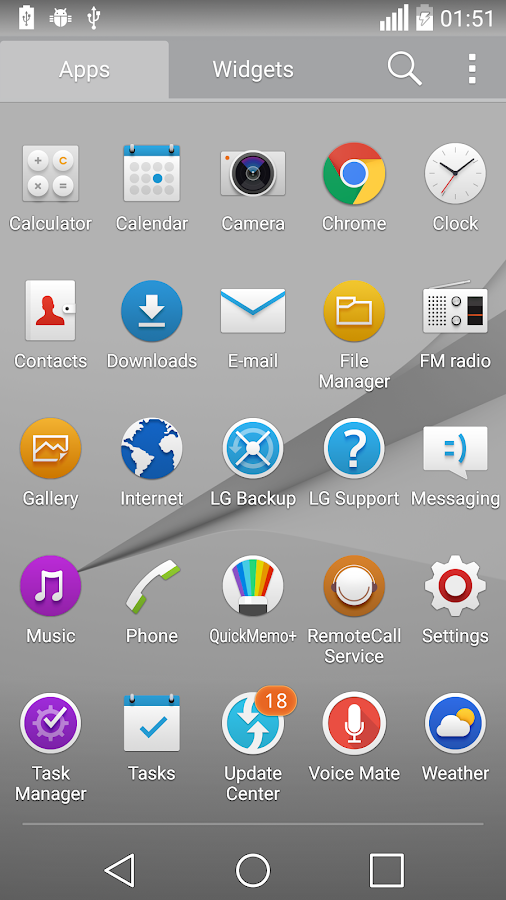 ux 6.0 g6 theme for lg home launcher apk