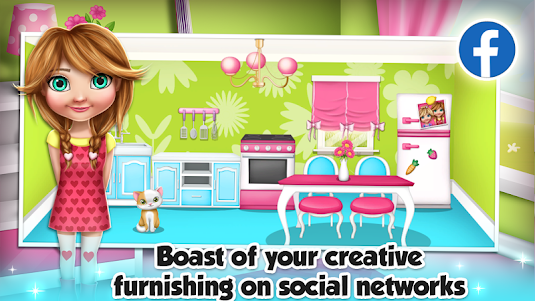 My Doll House Decoration Games 3.0 screenshot 4