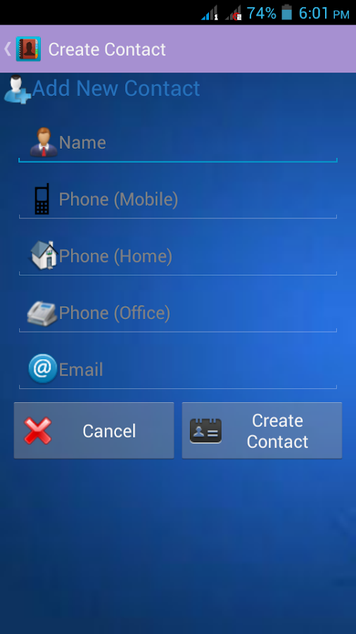 VCard - Multiple Vcf Generator 1 5 APK Download - Android