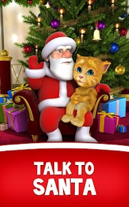 Talking Santa meets Ginger +  screenshot 6