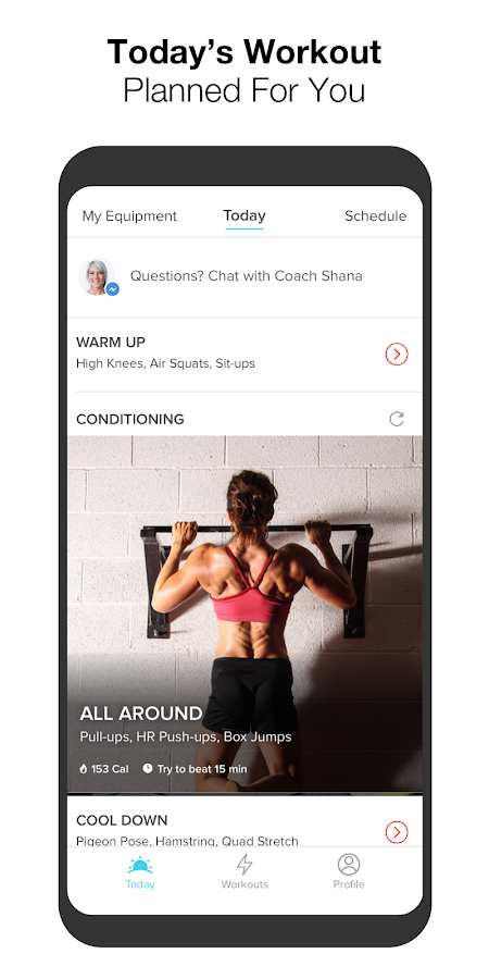 Keelo strength hiit workouts wod at home gym apk