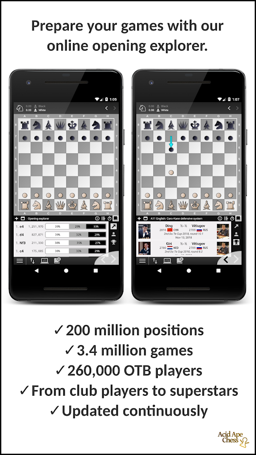 Acid Ape Chess Grandmaster Edition 1 4 APK Download - Android Puzzle
