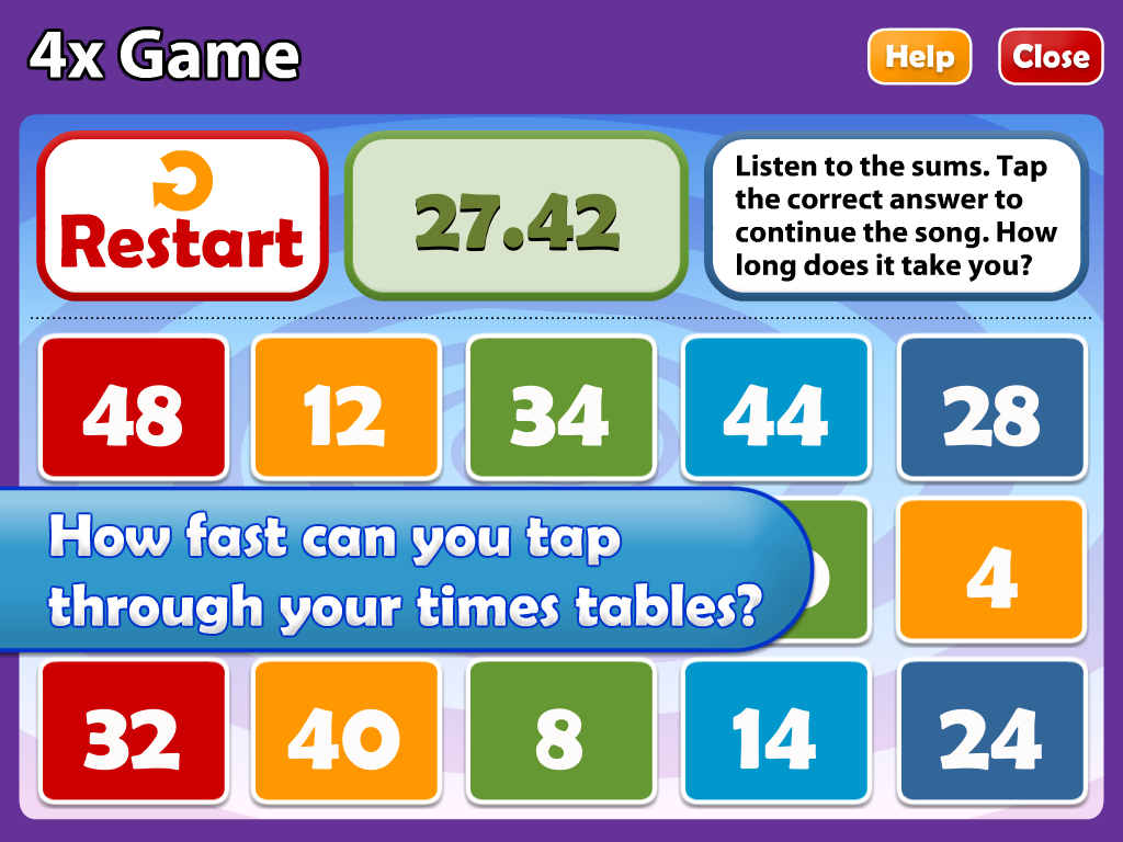 Maths Songs Times Tables 1-6x 1.1 APK Download - Android Education Apps