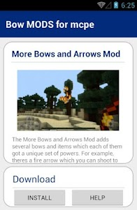 Bow MODS for mcpe 1.0 screenshot 3