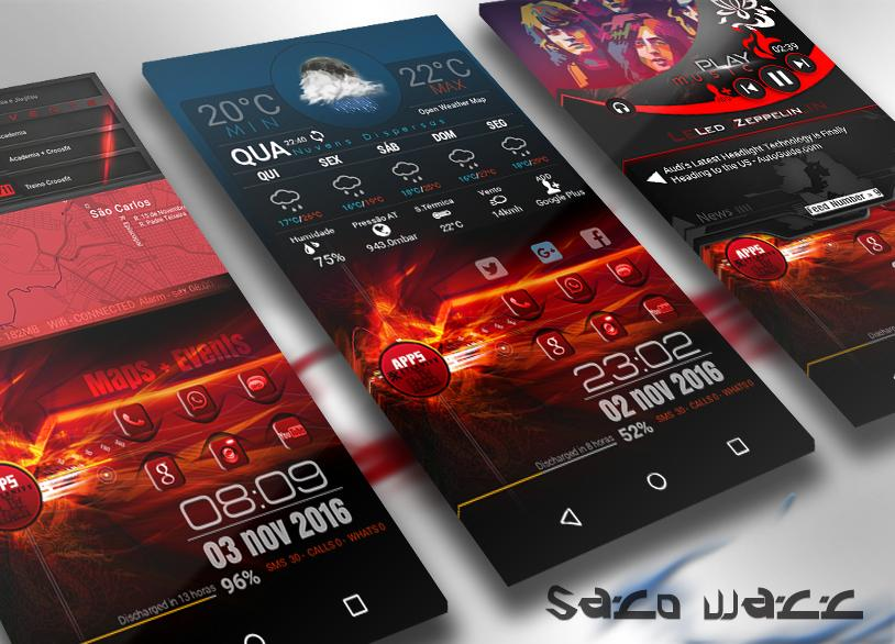 klwp themes infinite 2 1 12 apk download android personalization apps