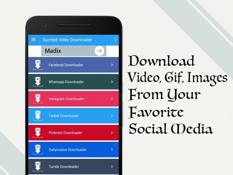 All Social Media Video Downloader 3 2 APK Download - Android