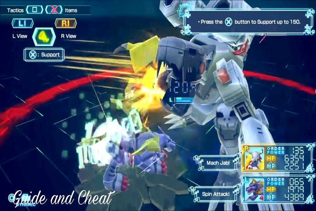 Digimon world digimon guide