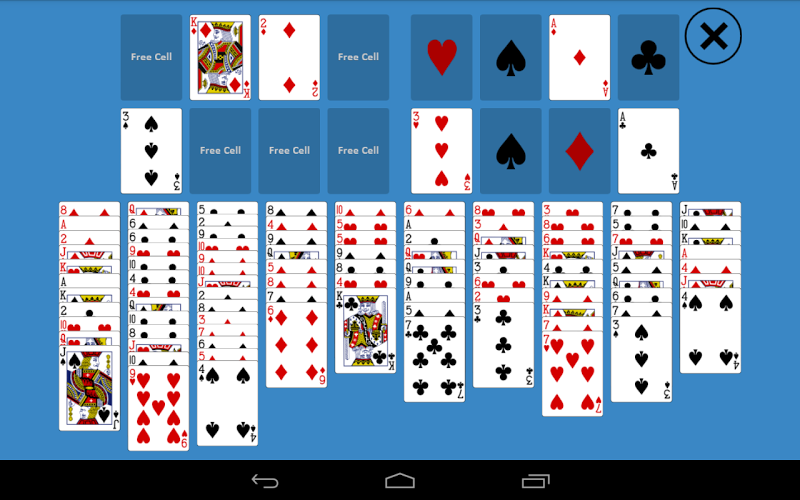 solitaire with 2 decks of cards