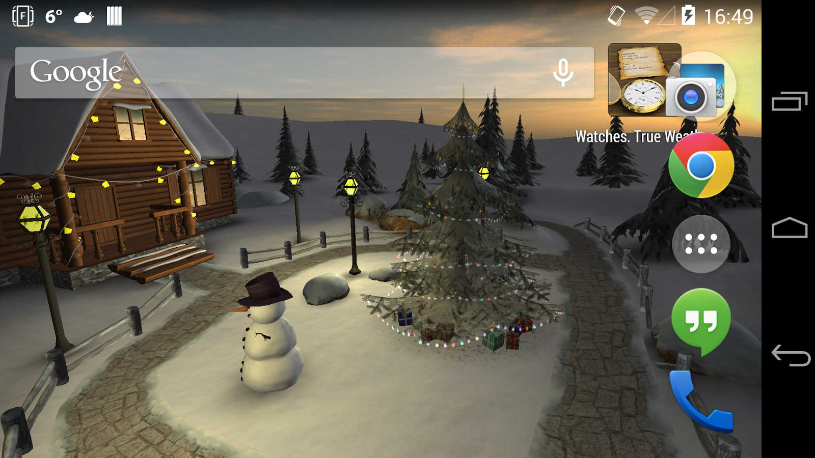 Winter 3D, True Weather 6 04 APK Download - Android Weather Apps