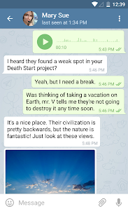 Telegram 8.1.1 screenshot 3
