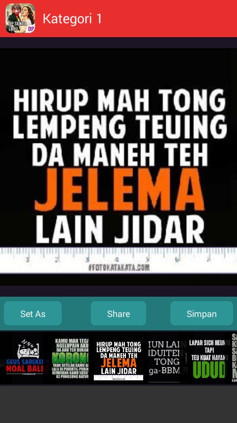 Dp Bahasa Sunda Lucu 1 0 Apk Download Android Media Video Apps