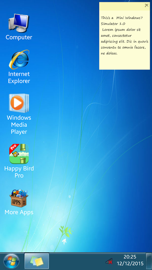 7imulator : Simulator for Win7 1 5 APK Download - Android