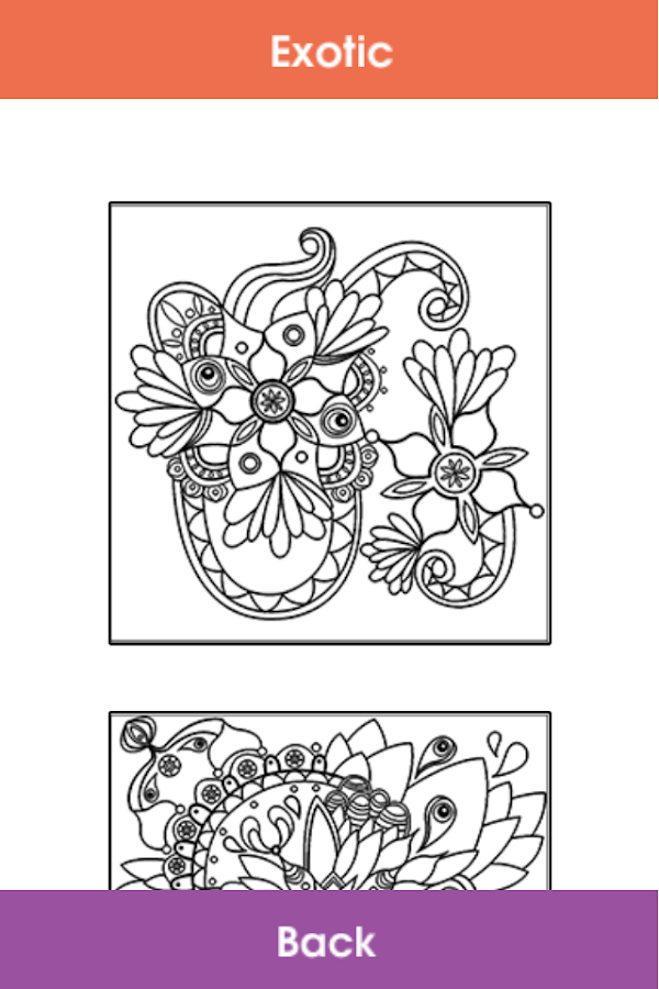 ColorTherapy Adult Color Book 13 Screenshot 3