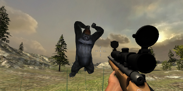 Gorilla Hunter Simulator 2015 1.9 screenshot 8
