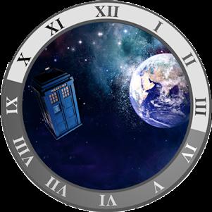 TARDIS CLOCK WIDGET 1.3 screenshot 1