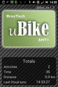 uBikeLite 1.4.8 screenshot 1