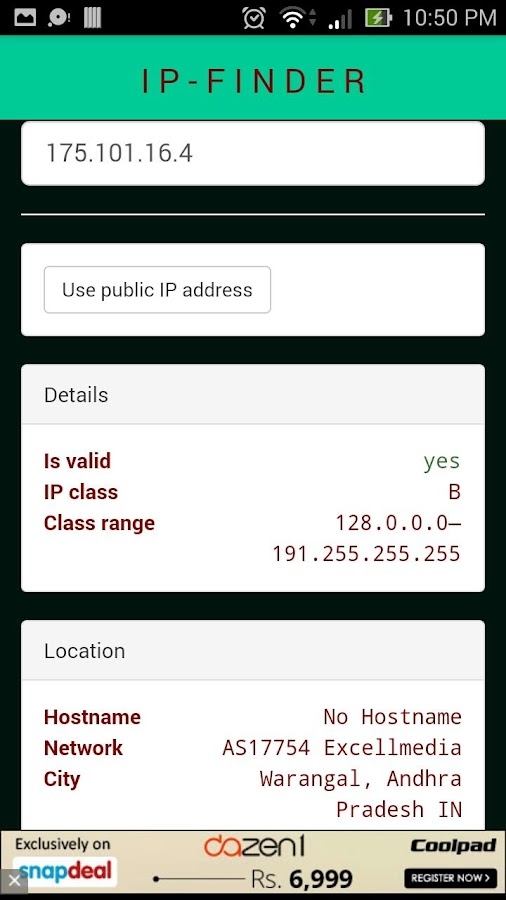 ip location apk