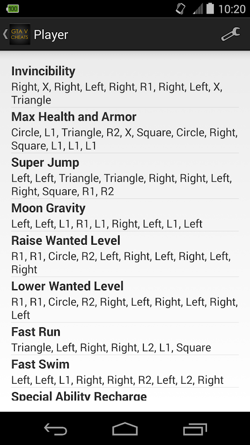 cheat codes for gta 5 ps4