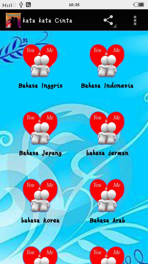 Kata Kata Cinta Romantis 8 Bahasa 21 Apk Download Android
