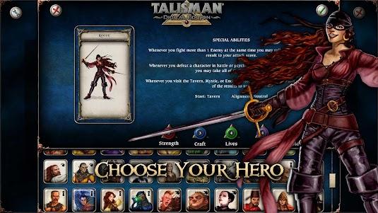 Talisman 20.16 screenshot 2