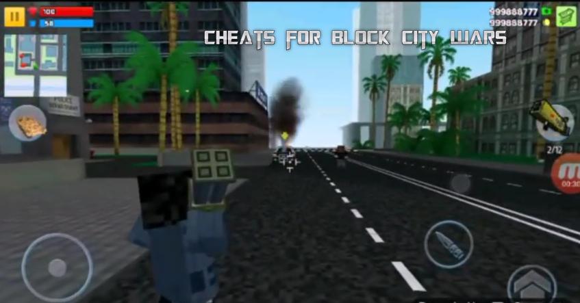 block city wars cheat codes