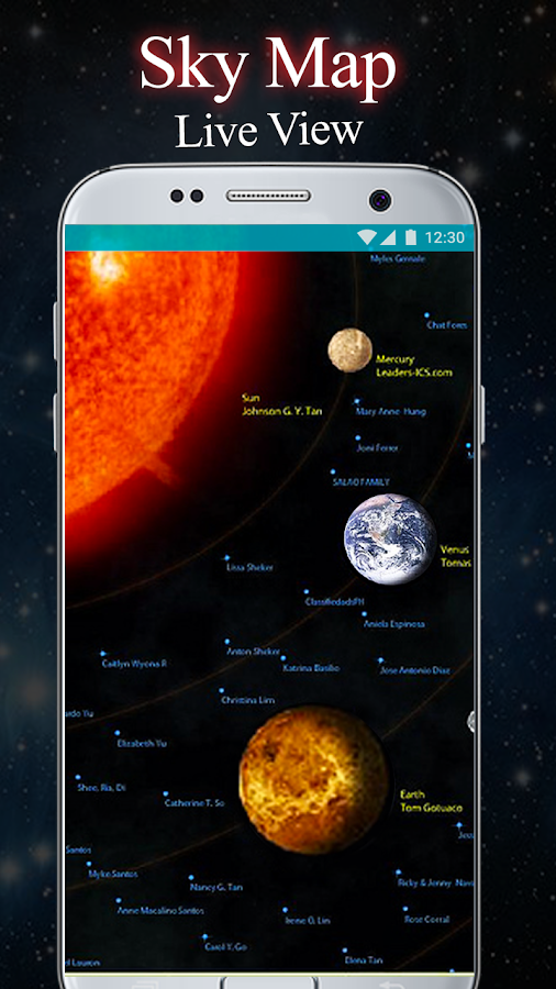 Star Map Apps For Android.Sky Map Live View Star Tracker Solar System 1 3 Apk Download