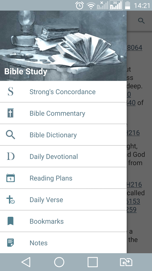 Bible Study - Dictionary, Commentary, Concordance! 2 0 8 APK
