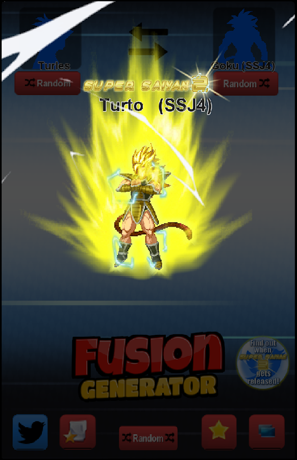 Fusion Generator for Dragon Ball 4 0 18 APK Download - Android Tools