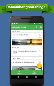 Gratitude - Happiness Journal 1.4.0 screenshot 1