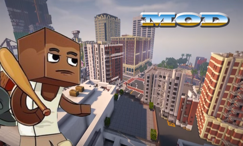 Mod Gta 5 For Minecraft 0 16 0 1 1 Apk Download Android