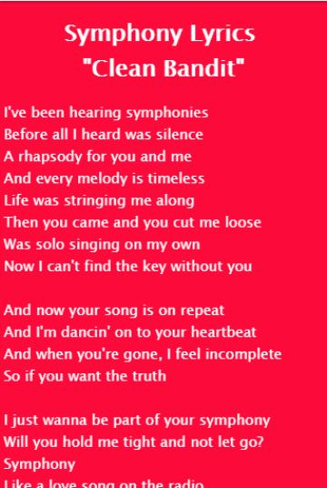 Clean Bandit  Telephone Banking Lyrics