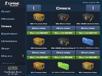Case Clicker 1.9.0a screenshot 23