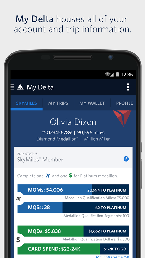 to pass app on download delta how boarding