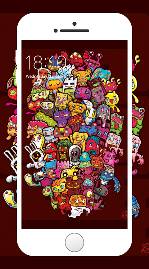 Doodle Art Wallpapers 1 1 Apk Download Android