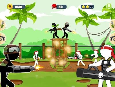 Stickman Army : The Resistance 15 screenshot 1