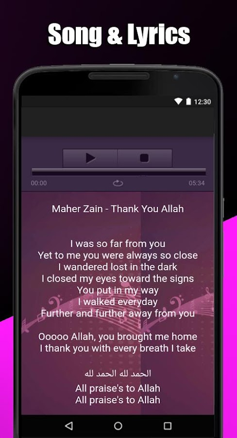 Download Maher Zain Song Lyrics Mp3 1 0 Apk Android Music Audio Apps