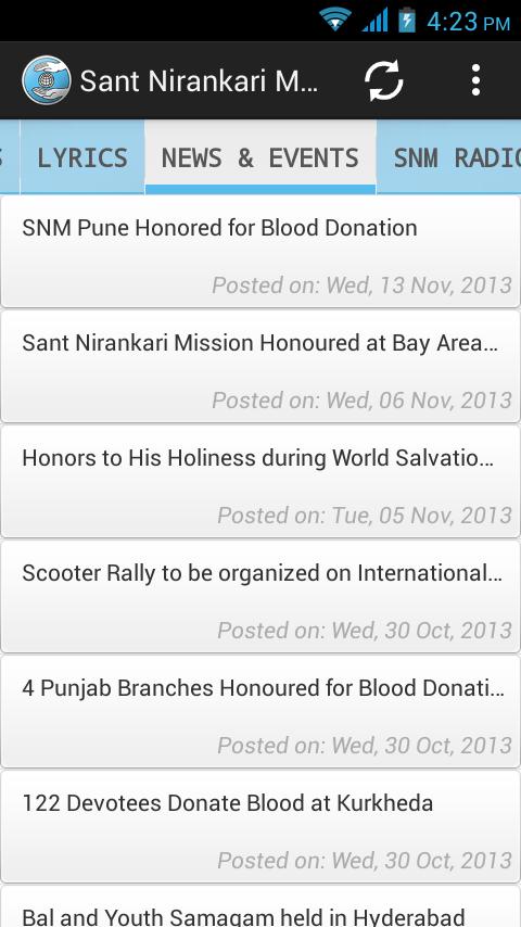 Sant Nirankari Mission 1 2 APK Download - Android Social Apps