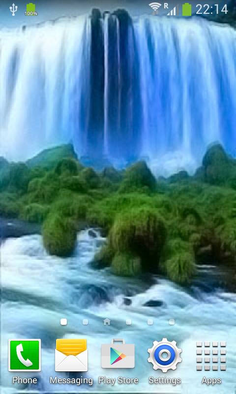 Waterfall Live Wallpaper 5.7 screenshot 1 ...