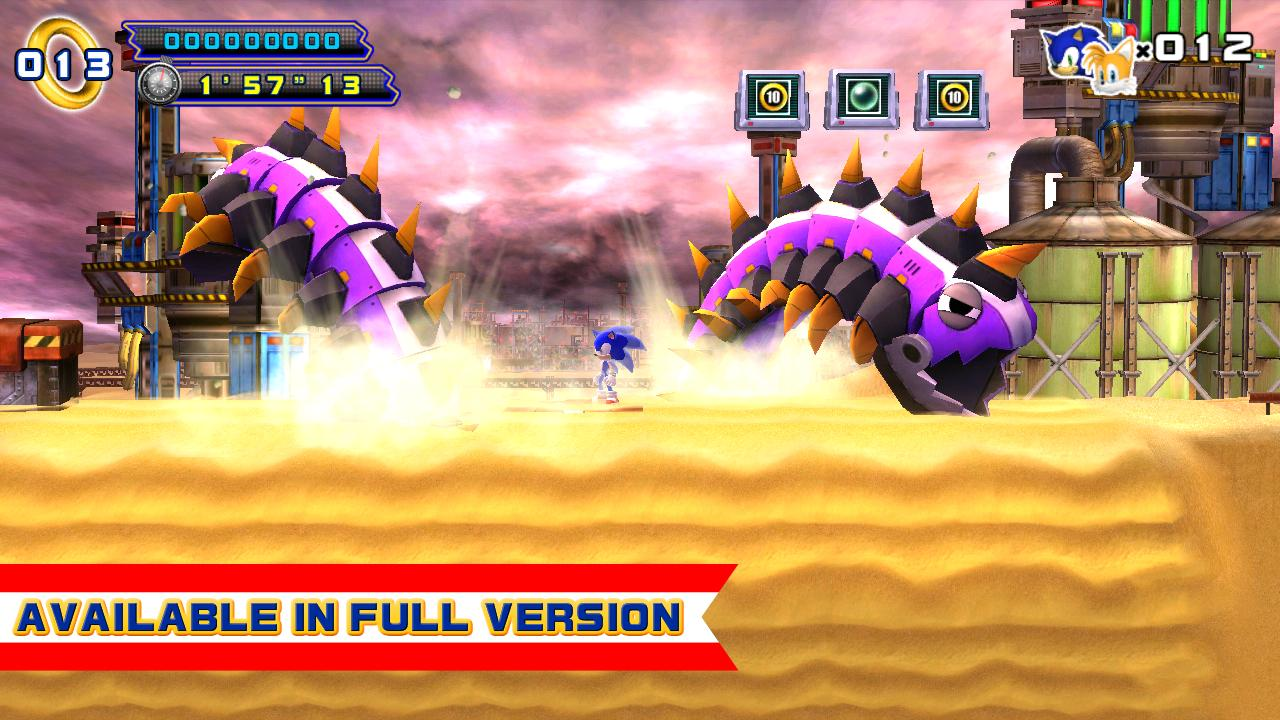 sonic the hedgehog 4 episode 1 apk full free