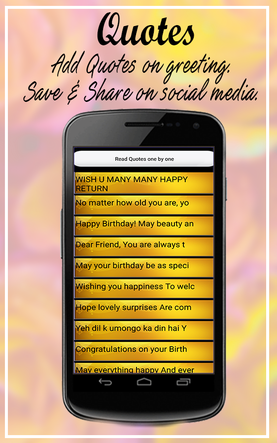 birthday card app for android image collections free birthday card