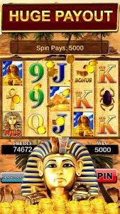 Slot Machine : Pharaoh Slots 2.9 screenshot 1