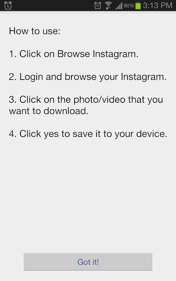 Video Downloader for Instagram 4 6 3 APK Download - Android