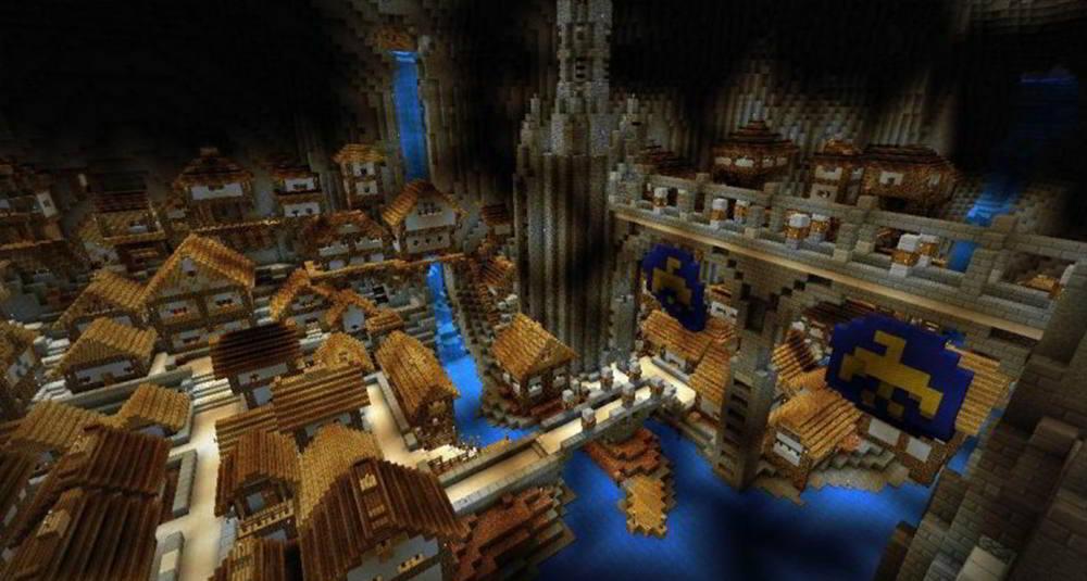 Underground City Minecraft Map 1 0 APK Download - Android
