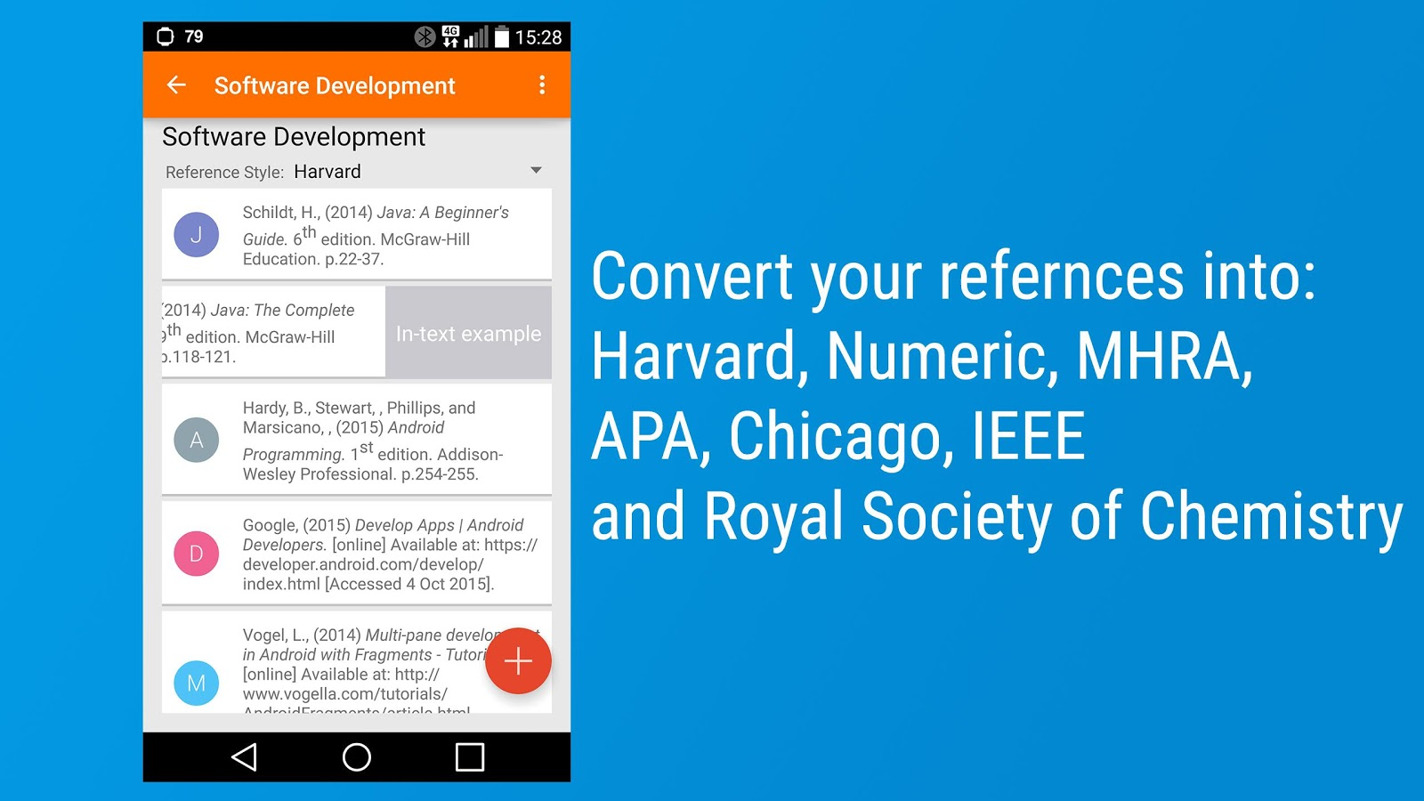 Reference Generator 2.2 APK Download - Android Education Apps