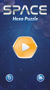 Space Hexa Puzzle 1.3.3 screenshot 1