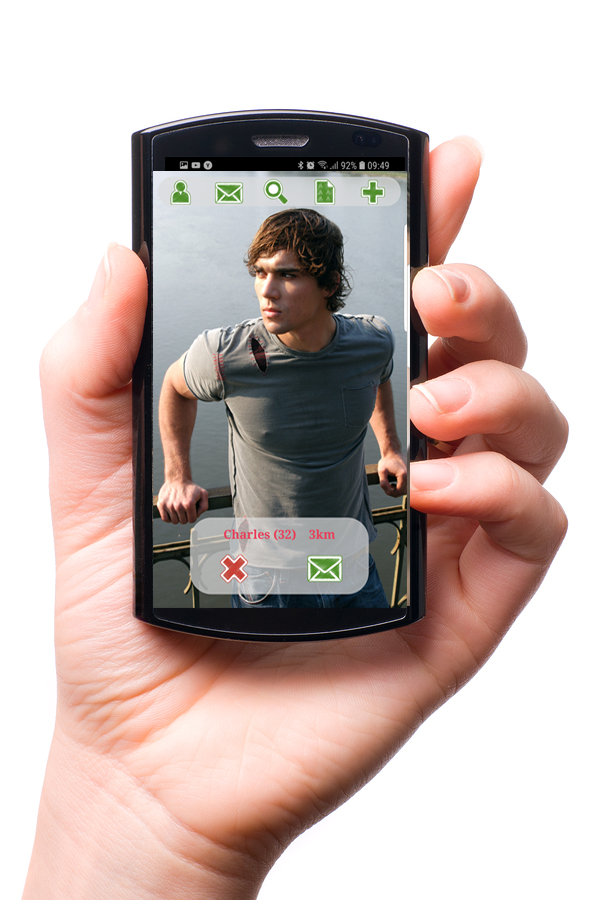 Gay dating app zdarma
